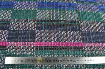 Tweed multicolore